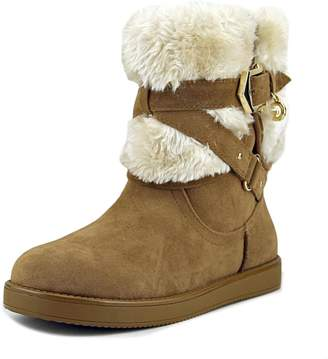 G by Guess Womens alixa Closed Toe Ankle Cold Weather Boots, Brown, Size 9.0