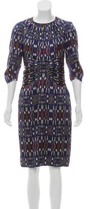 Etro Silk Ikat Dress w/ Tags