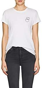 Rag & Bone Women's Double-Heart Cotton T-Shirt - White