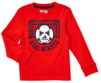 adidas Toddler Boys) Soccer Long Sleeve Tee
