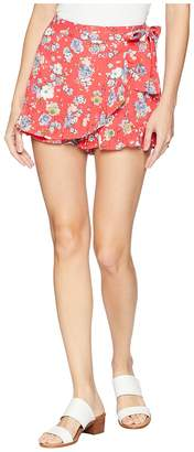 Free People Flirting Fleurs Mini Women's Skirt