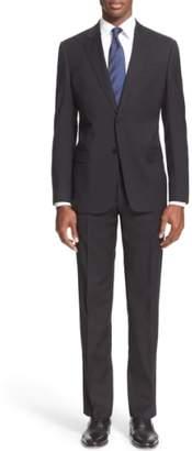 Armani Collezioni G-Line Trim Fit Solid Wool Suit