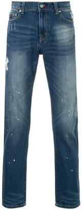 Loveless light-wash skinny jeans