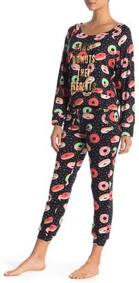 Couture Curvy Donuts First Jogger Pajama 2-Piece Set