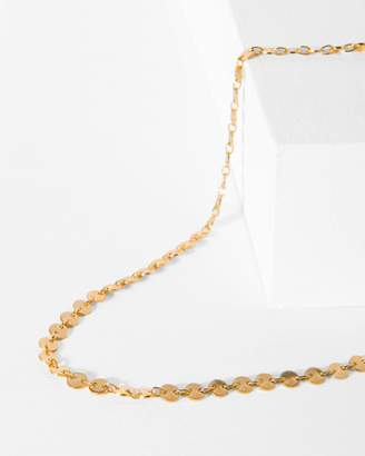 7 For All Mankind Five and Two Pandora Choker in Gold