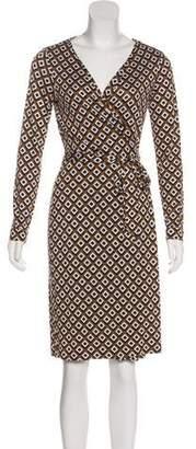 Diane von Furstenberg New Julian Silk Dress