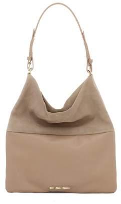 Elaine Turner Leather Shoulder Bag.