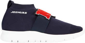 Joshua Sanders N.Y. Low-Top Sock Sneakers