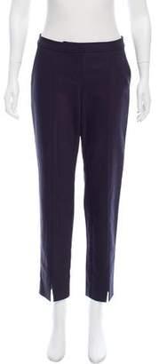 St. John Mid-Rise Straight-Leg Pants