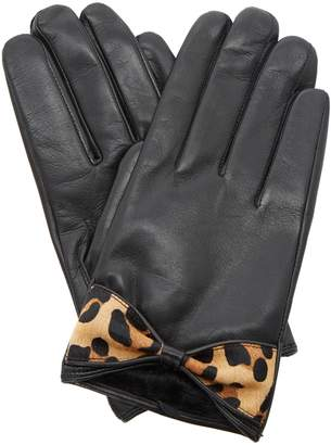Dune ACCESSORIES ISABELLE - Bow Trim Leather Glove