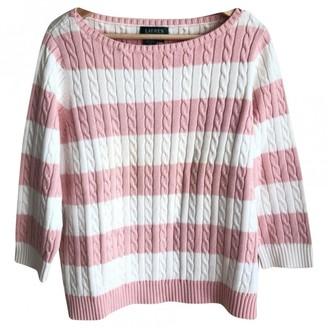 Lauren Ralph Lauren Pink Cotton Knitwear for Women