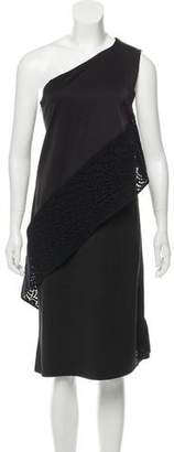 Zero Maria Cornejo Layered One-Shoulder Dress