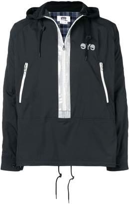 Junya Watanabe high-gloss placket jacket