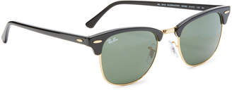 Ray-Ban Classic Clubmaster Sunglasses $150 thestylecure.com