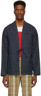 Naked & Famous Denim Denim Indigo Chon Kimono Shirt