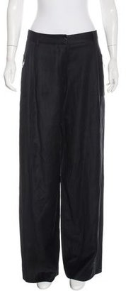 Mulberry Wool Wide-Leg Pants w/ Tags $225 thestylecure.com