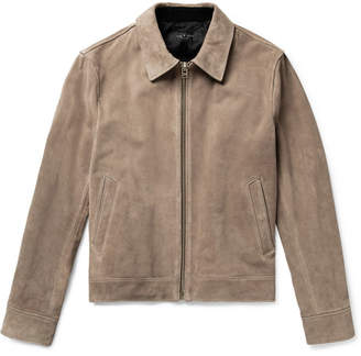 Rag & Bone Suede Jacket - Men - Gray