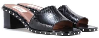 Valentino Soul Rockstud snakeskin sandals