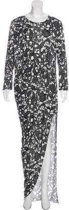 Thakoon Batik Printed Maxi Dress