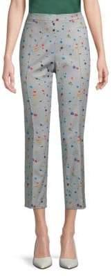 Akris Printed Cropped Pants