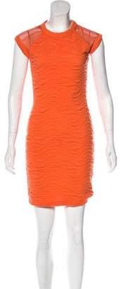 Yigal Azrouel Cut25 by Mini Sheath Dress