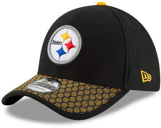 New Era Boys' Pittsburgh Steelers 2017 Official Nfl Kids Sideline 39THIRTY Cap