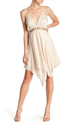 The Jetset Diaries TJD Vespero Handkerchief Hem Mini Dress