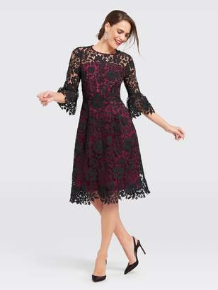 Draper James Collection Lace Rosslyn Midi Dress