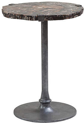 Artistica Kane Side Table - Antiqued Iron