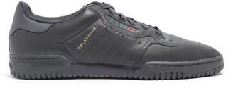 Yeezy Powerphase leather trainers