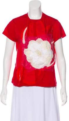 Creatures of the Wind Embellished Knit T-Shirt