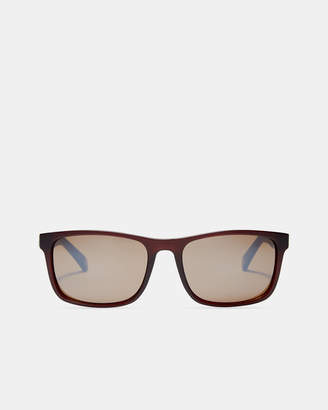 Ted Baker LOWE Striped arm sunglasses