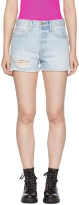 Frame Blue Rigid Re-Release Le Original Shorts