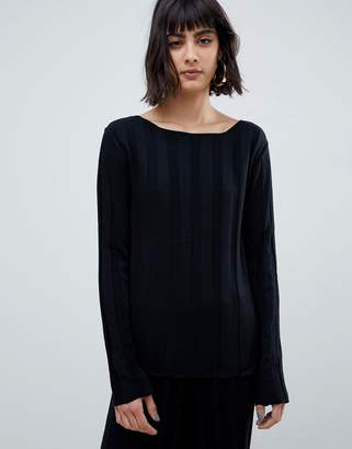 Asos Design DESIGN sweater in deep rib