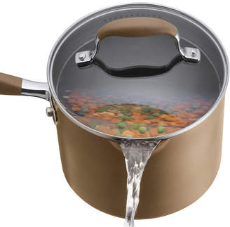 Anolon Advanced Bronze Hard Anodized 3-Qt. Saucepan with Lid, Created for Macy's