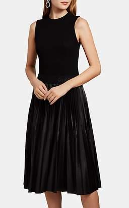 Givenchy Women's Pleated-Skirt Sleeveless Dress - Black