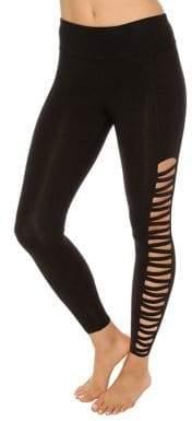Betsey Johnson Performance Cutout Performance Leggings