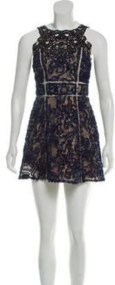 Marchesa Sleeveless Mini Dress w/ Tags