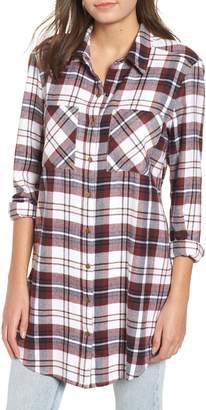 BP Plaid Flannel Tunic