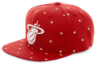 MITCHELL & NESS Heat Starry Night Glow-in-the-Dark Snapback $35 thestylecure.com