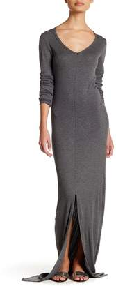 American Twist Long Sleeve Maxi Dress