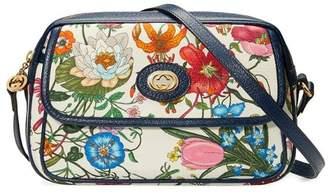 Gucci small flora shoulder bag