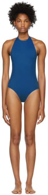 Her Line Blue Jean One-Piece Swimsuit