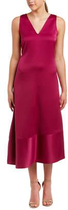 Anne Klein Asymmetrical Hem Shift Dress