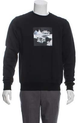 Christian Dior Graphic Print Sweatshirt