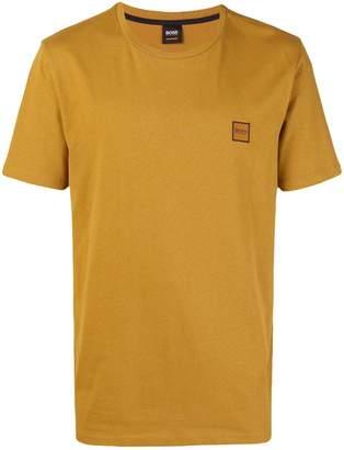 HUGO BOSS embroidered logo T-shirt