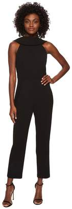 Adrianna Papell Knit Crepe Roll Neck Jumpsuit Women's Jumpsuit & Rompers One Piece