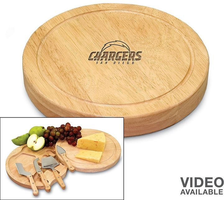 Circo Picnic time san diego chargers 5-pc. cheese board set