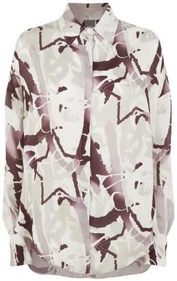 Lorena Antoniazzi Oversized Patterned Shirt