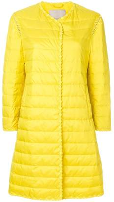 Ermanno Scervino scalloped padded jacket